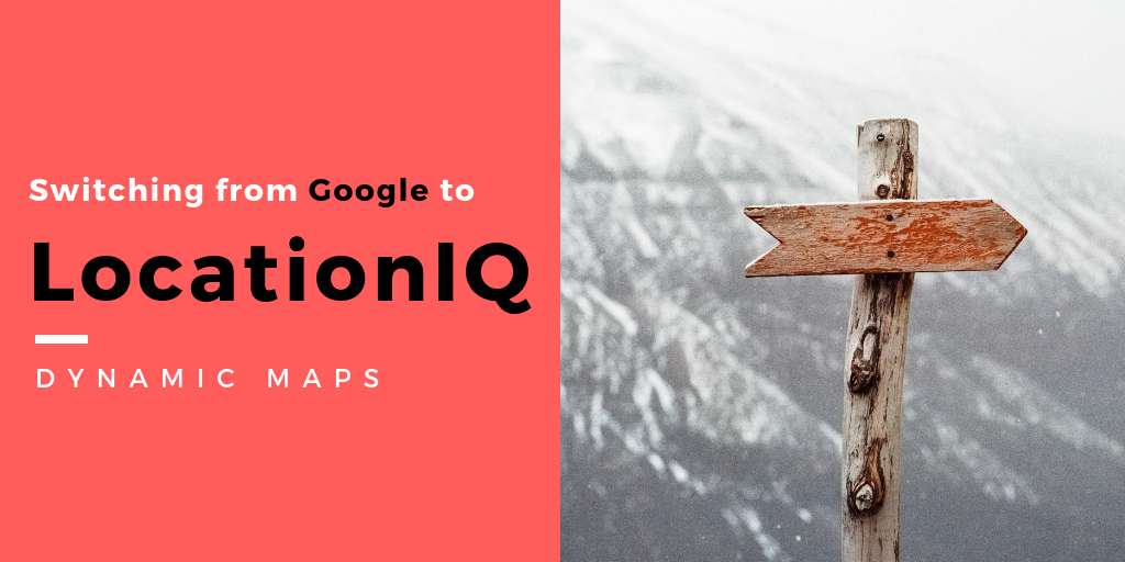 LocationIQ is an alternative to Google Maps